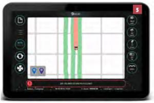 Visualización a tiempo real del trabajo de pulverización con H3O.